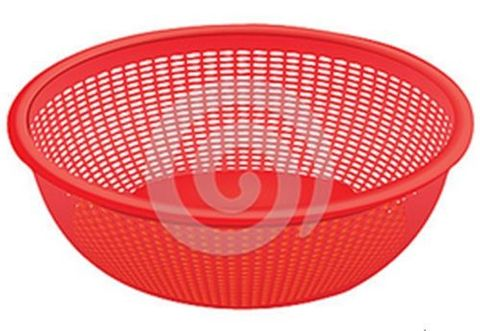 Colander 35cm Red
