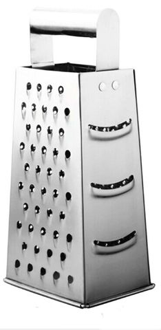 Four Way Box Grater 125x90x10mm