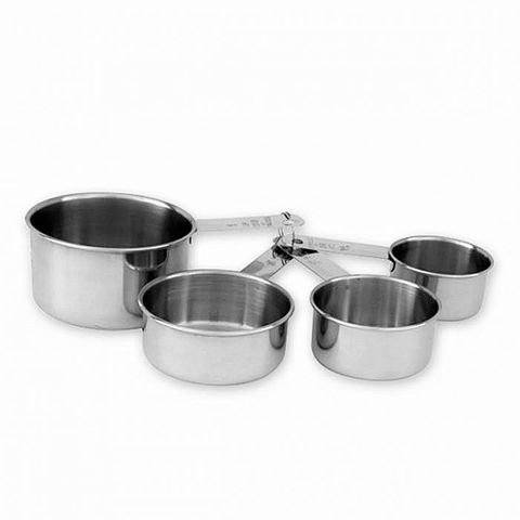 Measuring Cup Set S/S 4pc