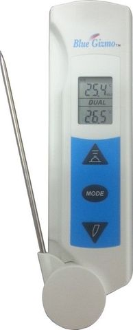 2-in-1 Non-Contact Infrared Thermometer with Probe (BG43R)