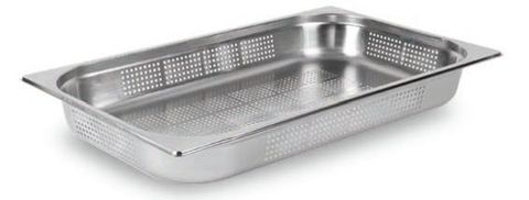 Perforated Gastronorm Pan S/S 1/1 40mm