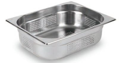 Perforated Gastronorm Pan S/S 1/2 100mm