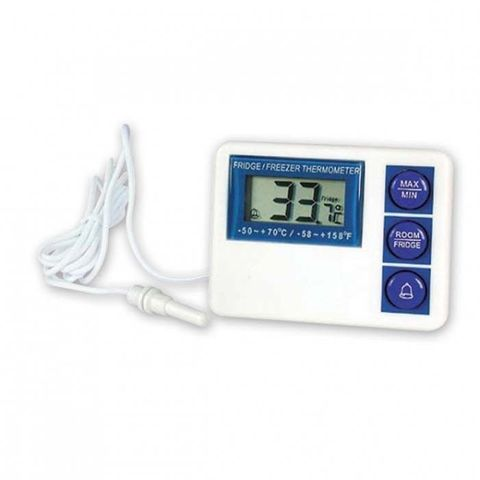 Digital Fridge/Freezer Thermometer Waterproof