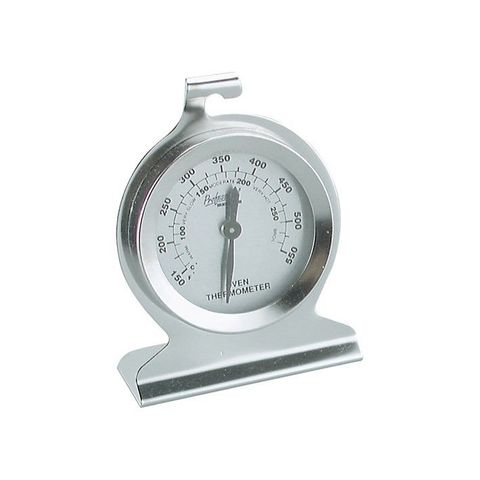 Thermometer Oven Dual 50mmx75mm S/S Stand or Hang