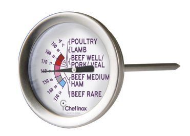 Thermometer Meat Dual 50mm S/S 100mm Probe