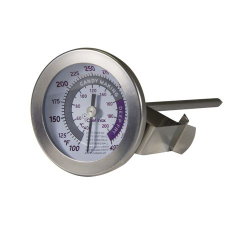 Thermometer Candy/Deep Fry Dual 55mm S/S