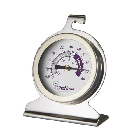Thermometer Freezer Dual 50mmx75mm S/S Stand or Hang