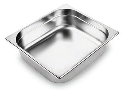 Gastronorm Pan S/S 2/3 100mm (Anti-Jam)