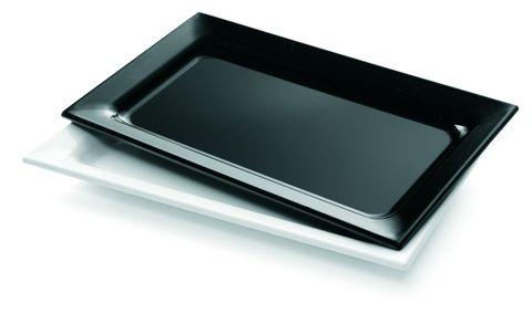 Platter Rectangle Small 300x175mm White