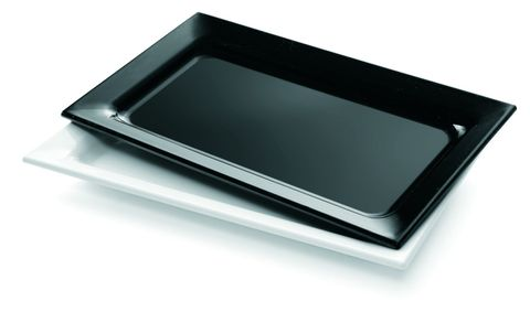 Platter Rectangle Small 300x175mm Black