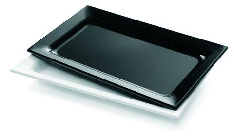 Platter Rectangle Medium 430x280mm Black
