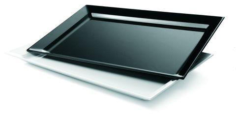 Platter Rectangle Large 530x350mm Black