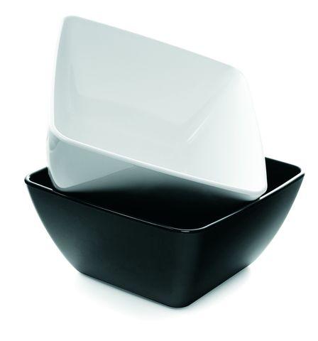 Salad Bowl 250x250x100mm Black