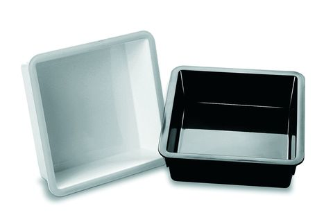 Deli Display Tray 245x245x78mm Black