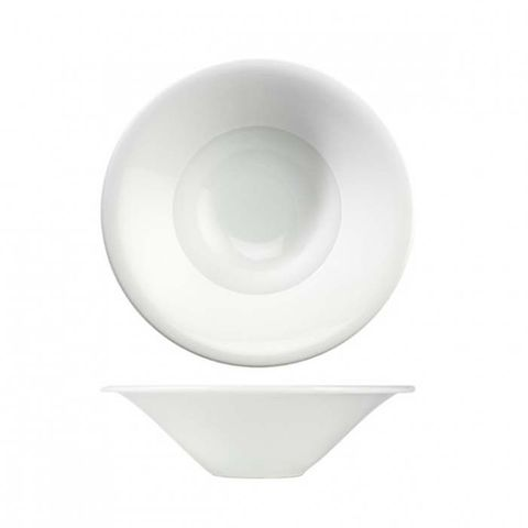 "Wide Rim Bowl 241mm ""MENU"" ART de CUISINE"
