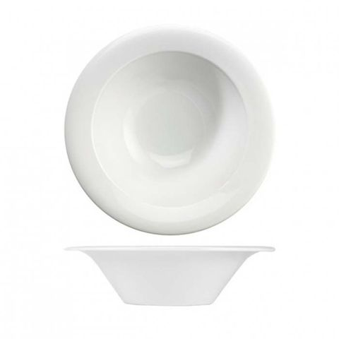 "Mid Rim Deep Bowl 222mm ""MENU"" ART de CUISINE"