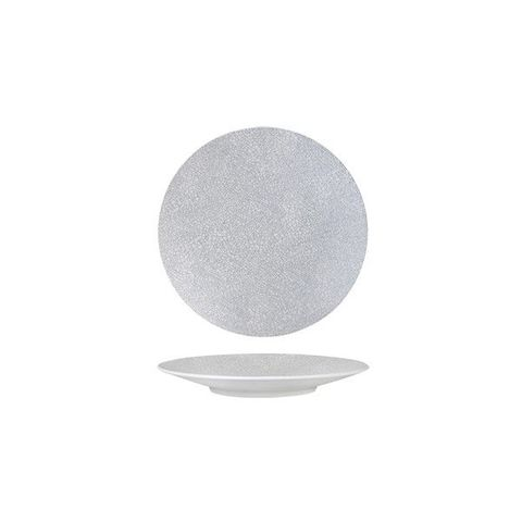 Round Coupe Plate 155mm LUZERNE ZEN Grey Web
