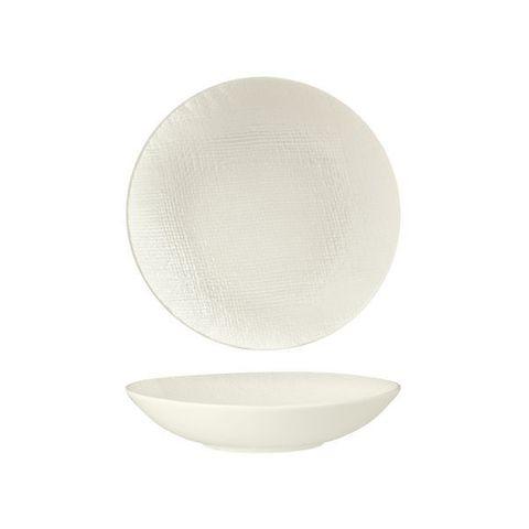 Round Share Bowl 200mm/700ml LUZERNE LINEN White