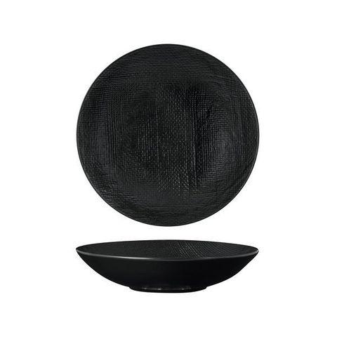 Round Share Bowl 230mm/1100ml LUZERNE LINEN Black