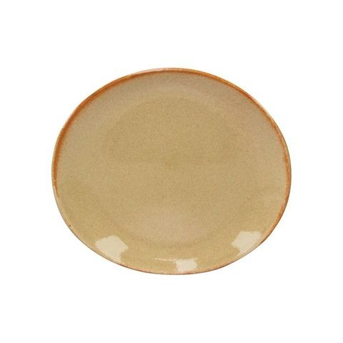 ARTISTICA Oval Plate 250x220mm Flame