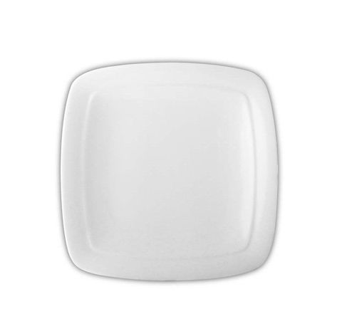 DS 11.5'' Double Rimmed Square Plate LUMAS