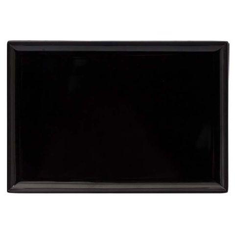 Melamine Rectangular Platter 350x240mm RYNER Black