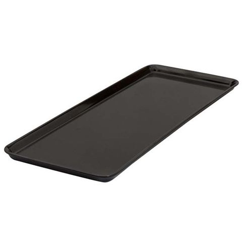 Melamine Sandwich Plate 390x150mm RYNER Black