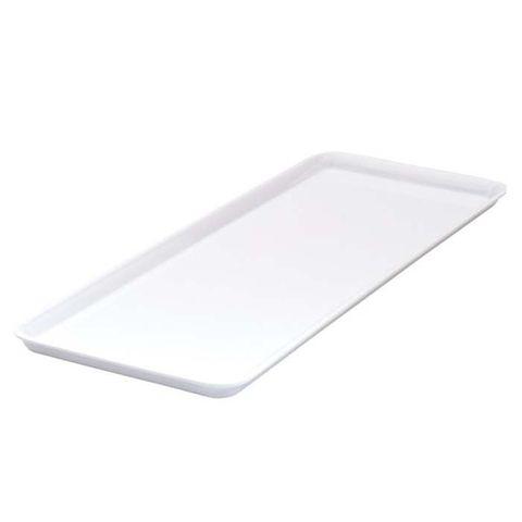 Melamine Sandwich Plate 390x150mm RYNER White
