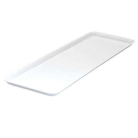Melamine Sandwich Plate 500x180mm RYNER White
