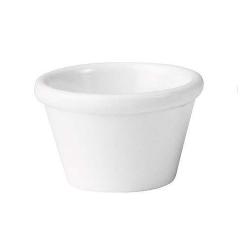 Melamine Ramekin - White 45ml RYNER