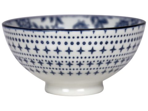 Flowers Round Bowl 100mm GUSTA Out of the Blue