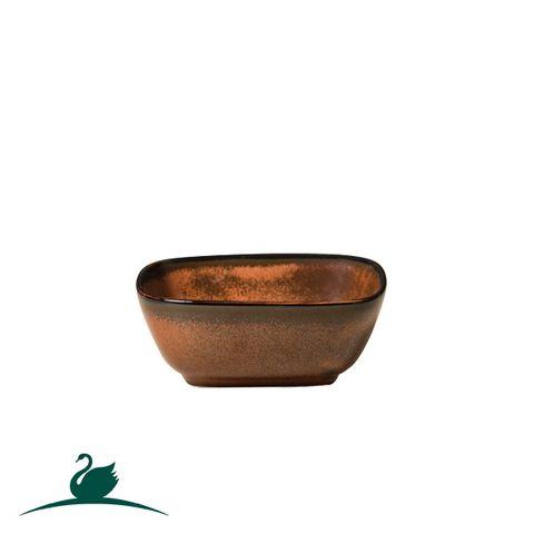 Rectangular Bowl 115x95mm CAMEO Brown