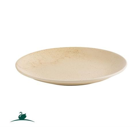 Round Coupe Plate 260mm CAMEO Sand