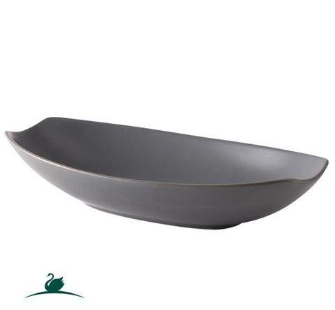 Boat Bowl 355x175mm CAMEO Dark Grey