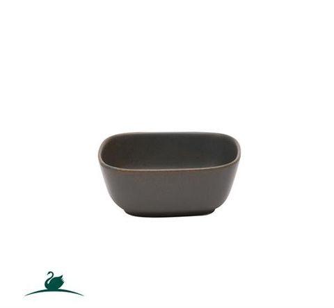 Rectangular Bowl 115x95mm CAMEO Dark Grey
