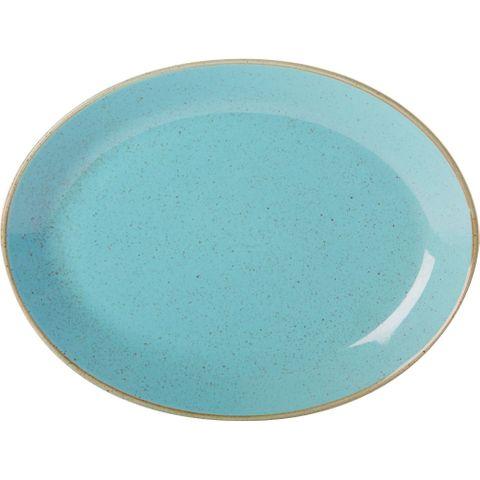 Oval Plate 300mm SEASONS Sea Spray