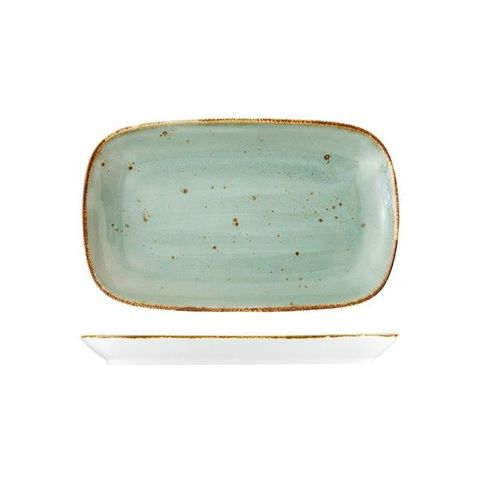 Rectangular Platter 280x175mm FORTESSA ERTHE Celadon