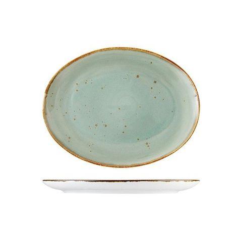 Oval Platter 330x290mm FORTESSA ERTHE Celadon