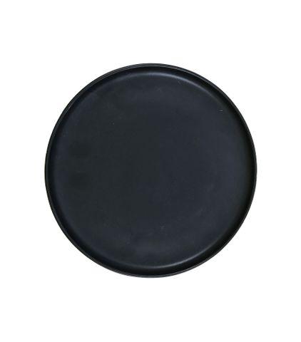 10'' Round Pizza Plate 255mm LUMAS Black