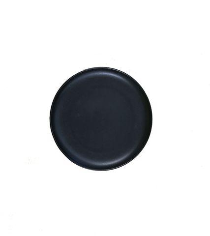 6'' Round Pizza Plate 150mm LUMAS Black