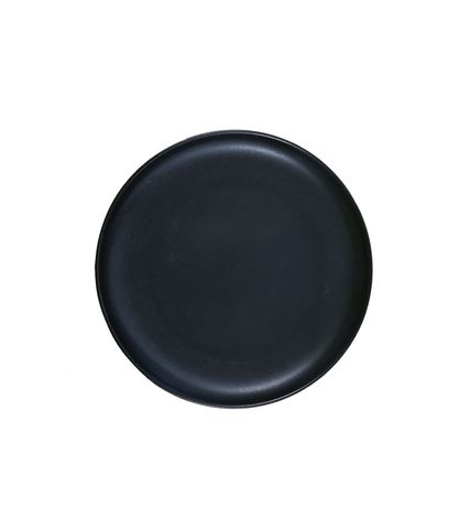 8'' Round Pizza Plate 200mm LUMAS Black
