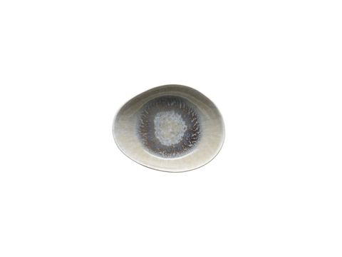 Oval Bowl Flared 205x165x20mm VILAMOURA Magnolia Reactive