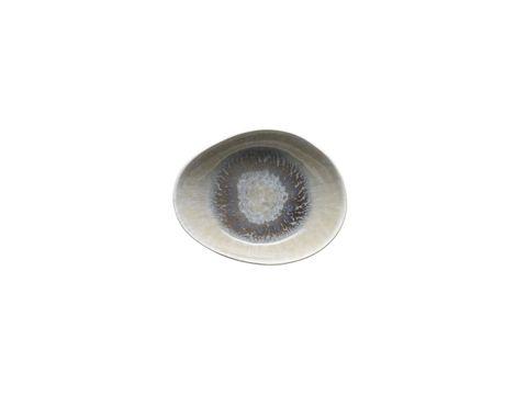 Oval Bowl Flared 205x165x20mm VILAMOURA Magnolia Reactive