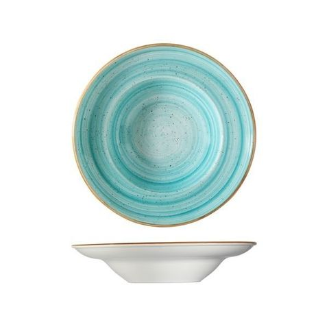 Round Pasta Bowl 400ml/270mm BONNA AURA Aqua