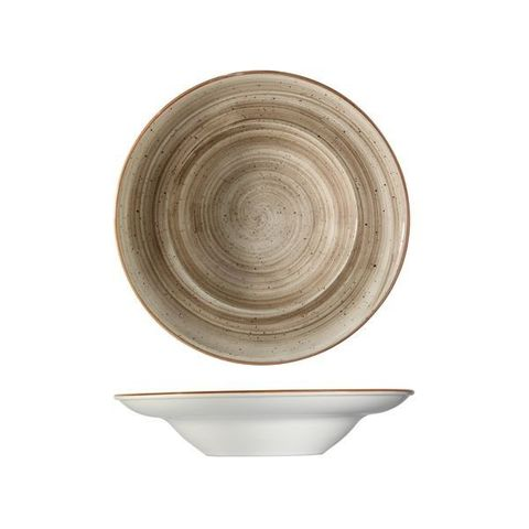 Round Pasta Bowl 400ml/270mm BONNA AURA Terrain