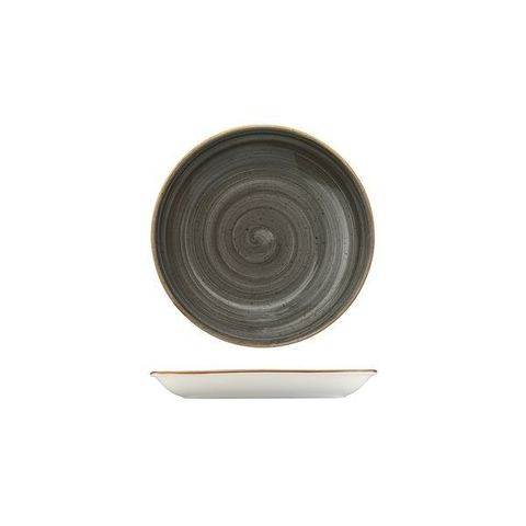 Round Coupe Plate/Bowl 500ml/200mm BONNA AURA Space