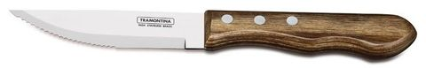 Tramontina Polywood Jumbo Steak Knife Point (Brown)