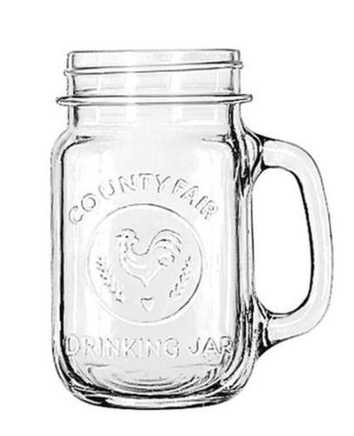 "Libbey ""County Fair"" 16 Oz Drinking Jar - 1DOZ - LB97085"