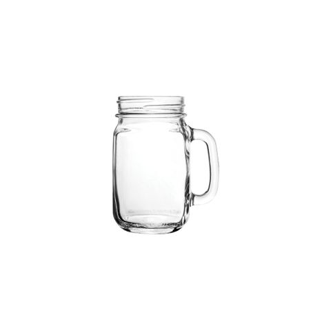 Libbey Drinking Mason Jar with Handle 16 OZ - 1DOZ - LB97084