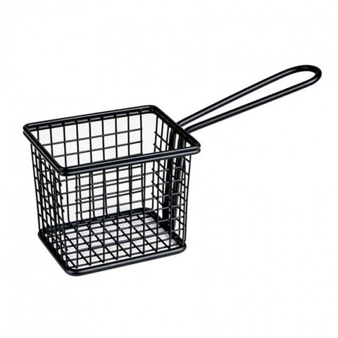 Service Basket - Rectangle Black 94x78x80mm MODA